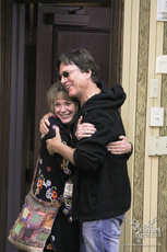 Richard Hatch and Anne Lockhart