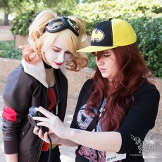 BCharlotteD and MikoMiko Cosplay