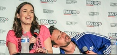 Elizabeth Henstridge and Brett Dalton