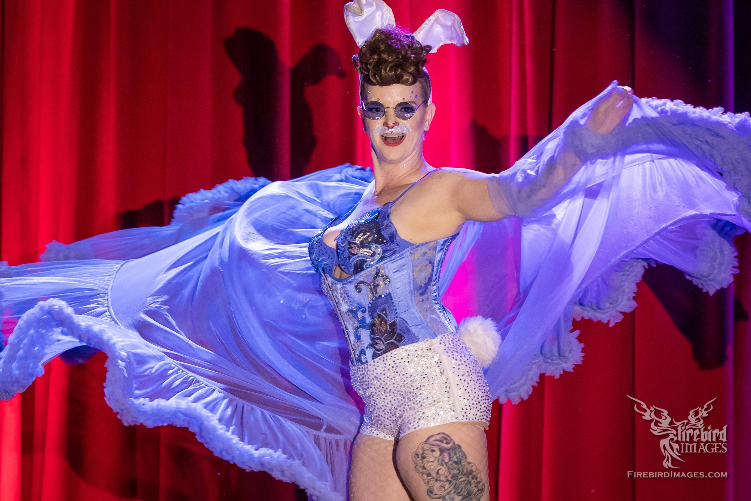 Vivienne Vermuth at Viva Dallas Burlesque - Spring Fling